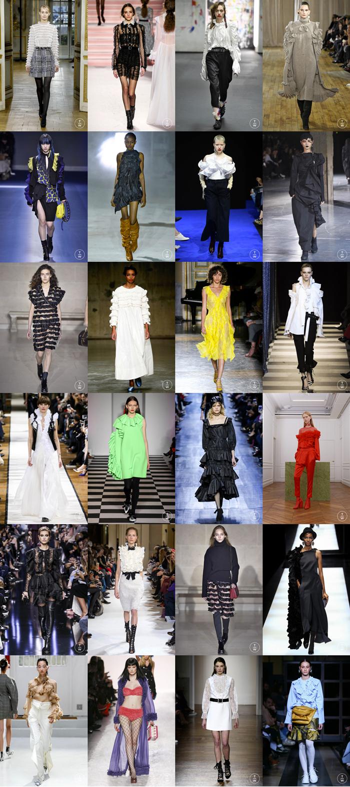 mosaïque defiles fashion week automne hiver 2017 2018