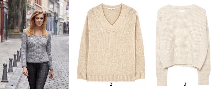 2) FLAVIO* pull laine Tanaïs 79€