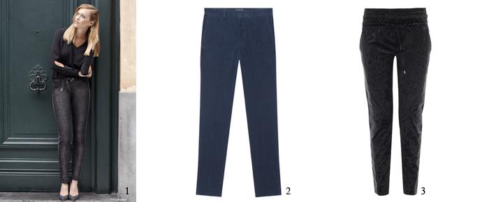 IVANO pantalon velours Tanaïs 107€